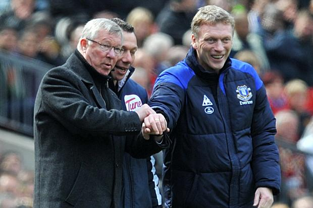 Moyes and Sir Alex