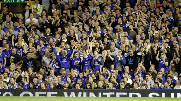 Goodison supporters