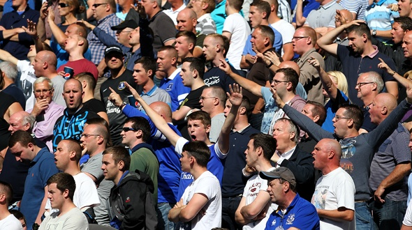 Everton fans