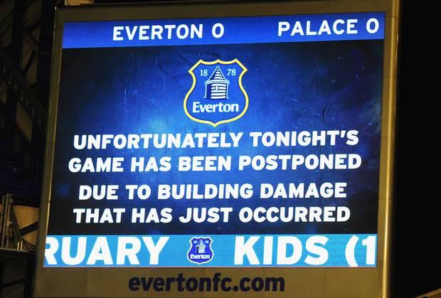 Postponement