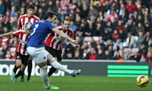 Sunderland against Everton, Premier League